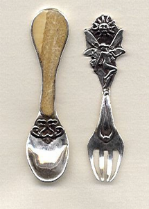 Child's Spoon and Fork