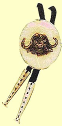 Classic Scrimshaw Bolo TieAvailablein 5 sizesSterling Silver