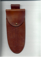 Double Belt Sheath for Sailor's Knife and Marlinspike