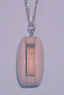 <b>Fossil Ivory<br>Ship's Block<br>Necklace</b>