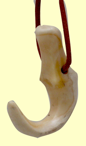 Royal HawaiianLei Niho PalaoaMade FromSperm Whale Ivory Or Fossil Walrus Ivory