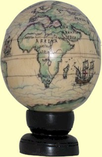 ScrimshawIvory GlobeShipped Only to Addresses in Maryland
