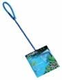 "(A1273) Marina 3"" Blue Fine Nylon Net w/10"" Handle"