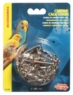 (B1402) Living World Chrome Cage Chain, 3'.