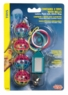 (B1690) Value Pack 3 Toys Assorted, consisting of: 1 Ea 81706 Athletic Rings 1 Ea 81708 Plastic Ball w/Bells 1 Ea 81760 Lantern w/Mirror