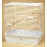 Chinchilla Cage, White Epoxy Coated w/White Bottom
