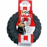 Dogit Jawz Rubber Paw Print Tire, Black, Small