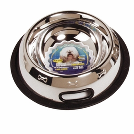 Dogit Stainless Steel Non-Spill Dog Dish, 24 oz.