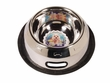 Dogit Stainless Steel Non-Spill Spaniel Dog Dish, 32 oz.