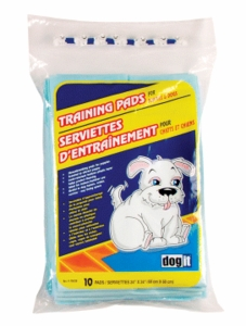 Dogit Training Pads for puppies, 10-pack