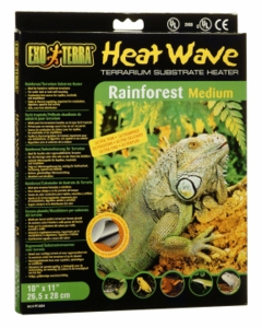 "Exo-Terra Heatwave Rainforest, 8W, 110V, 10"" x 11"""