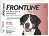 Frontline Top Spot for Dogs 89-132 lbs 3 Month Supply RED