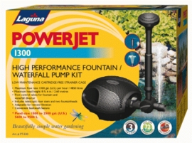 Hagen Pond PowerJet 1300 Electronic Fountain Pump Kit
