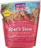 Halo Spot's Stew Dry Dog Food - Salmon - 4 Lb Bag