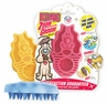 Kong Zoom Groom Brush Raspberry
