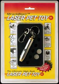 Laser Pet Toy by Miracle Beam