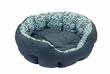 Lila Pattern Round Bed Bed Puppy