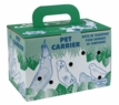 "Living World Pet Carrier, 10 7/8"" x 6"" x 7""."