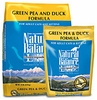 Natural Balance Duck and Green Pea Allergy Formula Dry Cat Food 10 lb Bag