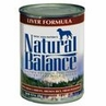 Natural Balance Liver Formula Canned Dog Food Case of 24 / 13 oz Cans