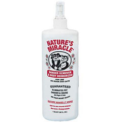 Nature's Miracle Dog / Cat Dander Remover & Body Deodorizer Spray 16 oz