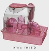 New!! Pink Princess Castle CP1 S.A.M. Down Under Small Animal Home for Dwarf Hamsters & Mice