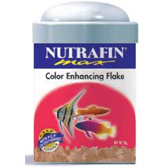 Nutrafin Max Color Enhancing Flake Food, 3.2 oz.