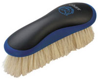 Oster Equine Care Series Finishing Brush Soft Bristle Natural Hog Hair Blue 078399-110