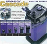 Penn Plax Cascade Canister Filters & Media ON SALE!!