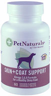 Pet Naturals Skin+Coat Support For Dogs 120 Tabs