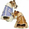 Shearling Dog Coat - Faux Suede X Small Size