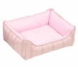 Small Rectangular Reversible Cuddle Bed - Baby Chic Pink, Extra Small