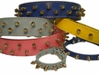 Spiked Leather Dog Collars in Five New Colors from Auburn Leathercrafters