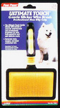Ultimate Touch Gentle Slicker Wire Brush- For LARGE dogs by Four Paws