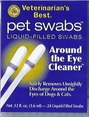 Veterinarian's Best Around the Eye Cleaner Pet Swabs