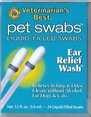 Veterinarian's Best Ear Relief Pet Swabs