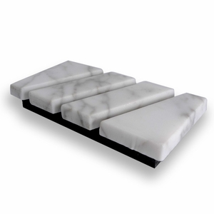 Business Card Holder (White Marble)
