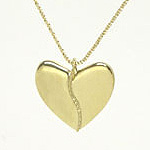 Gold Harmony Heart (18k Yellow or White)