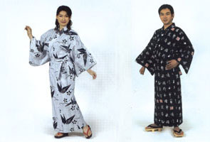 His and Her Cotton Robes from Japan