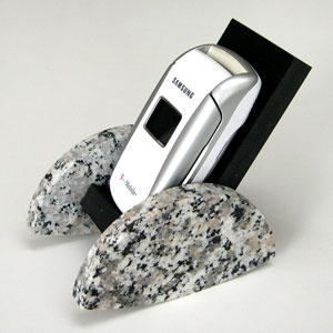 Old Cell Phone Rocker (natural granite)