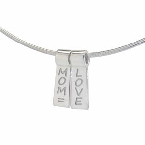 Mom = Love: A Double Slide Necklace