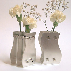 Silver Wedding Anniversary Vases for 25 Years of Marriage
