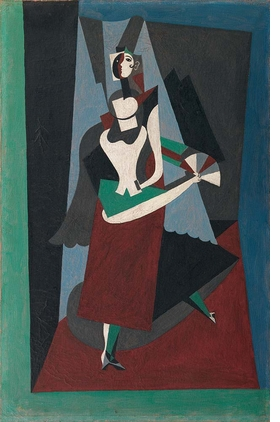 Featured image is reproduced from '1917: Picasso in Barcelona.'