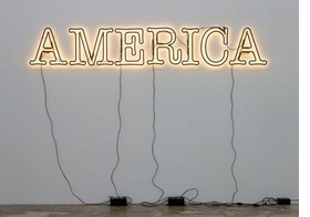 "Featured image, ""America"" (2008) by Glenn Ligon, is reproduced from <I>30 Americans</I>."