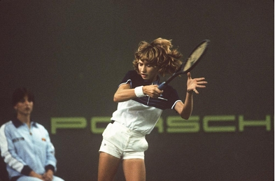 A 13-year-old star is born at the 1982 Porsche Tennis Grand Prix