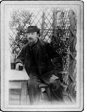 "Featured image, of Erik Satie in his days as ""The Velvet Gentleman"" (c.1895/6_ is reproduced from <I>A Mammal's Notebook: The Writings of Erik Satie</I>."