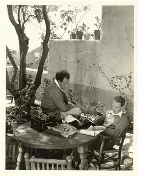 Featured image is reproduced from 'A World Redrawn: Eisenstein and Brecht in Hollywood.'