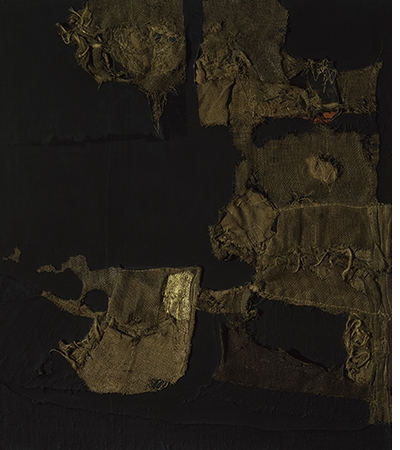 Alberto Burri: The Trauma of Painting, Sack and Gold