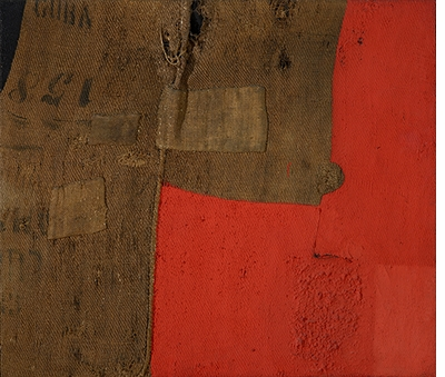 Alberto Burri: The Trauma of Painting, Sack H 8