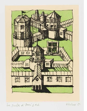 Featured image is reproduced from <i>Aldo Rossi: Prints 1973-1997</i>.